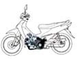 ปี 2553 ใช้หัวฉีดในรถจักรยานยนต์ฮอนด้าทุกรุ่น