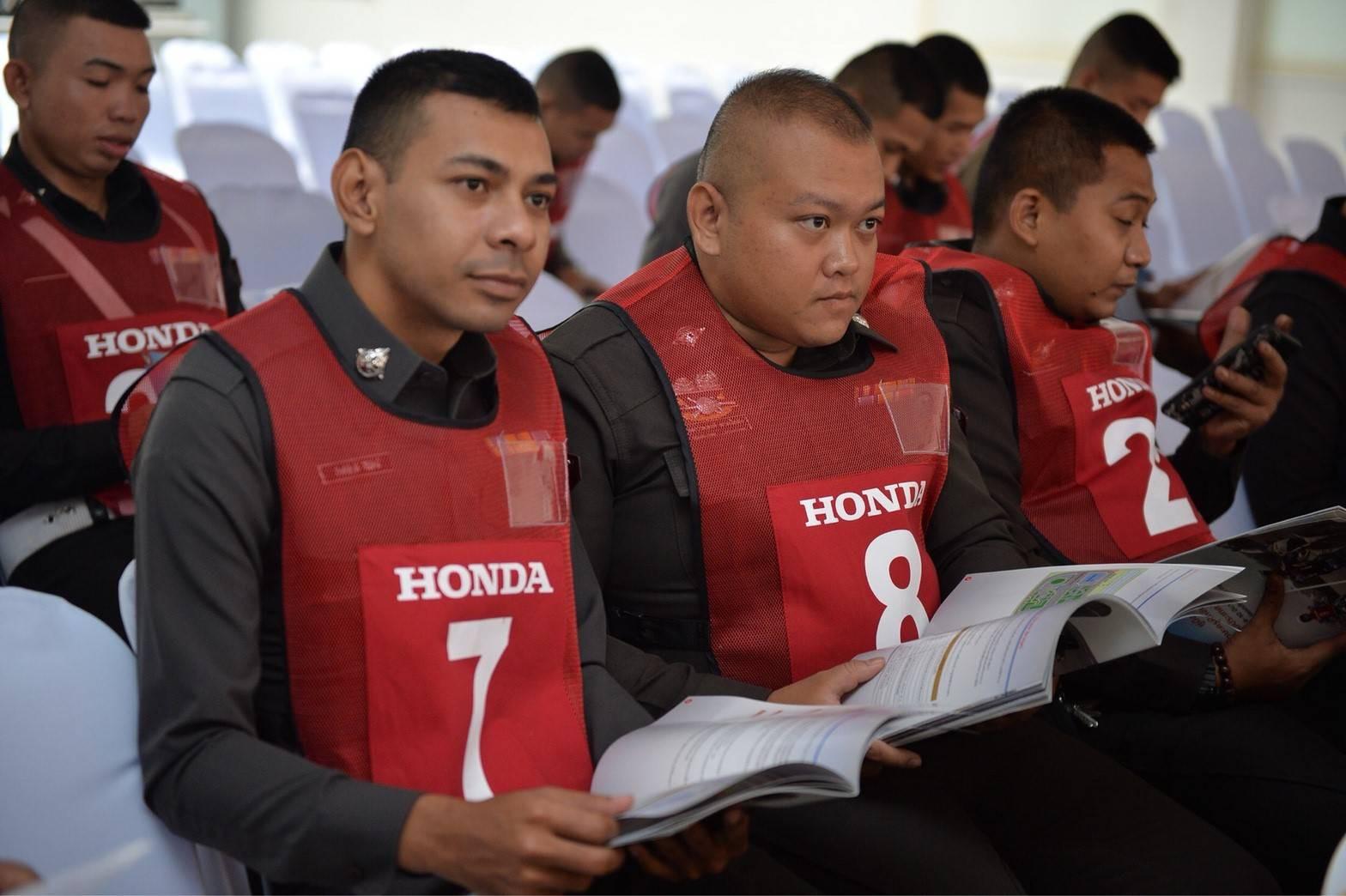 Honda-Motorcycle-มอเตอร์ไซค์-ฮอนด้า-20180315-ข่าวประชาสัมพันธ์-csrsafetypolice