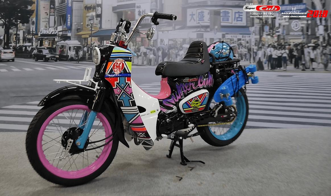 Honda-Motorcycle-มอเตอร์ไซค์-ฮอนด้า-ข่าวประชาสัมพันธ์-20181005-Japan-Retro-Fest-20-style-super-cub