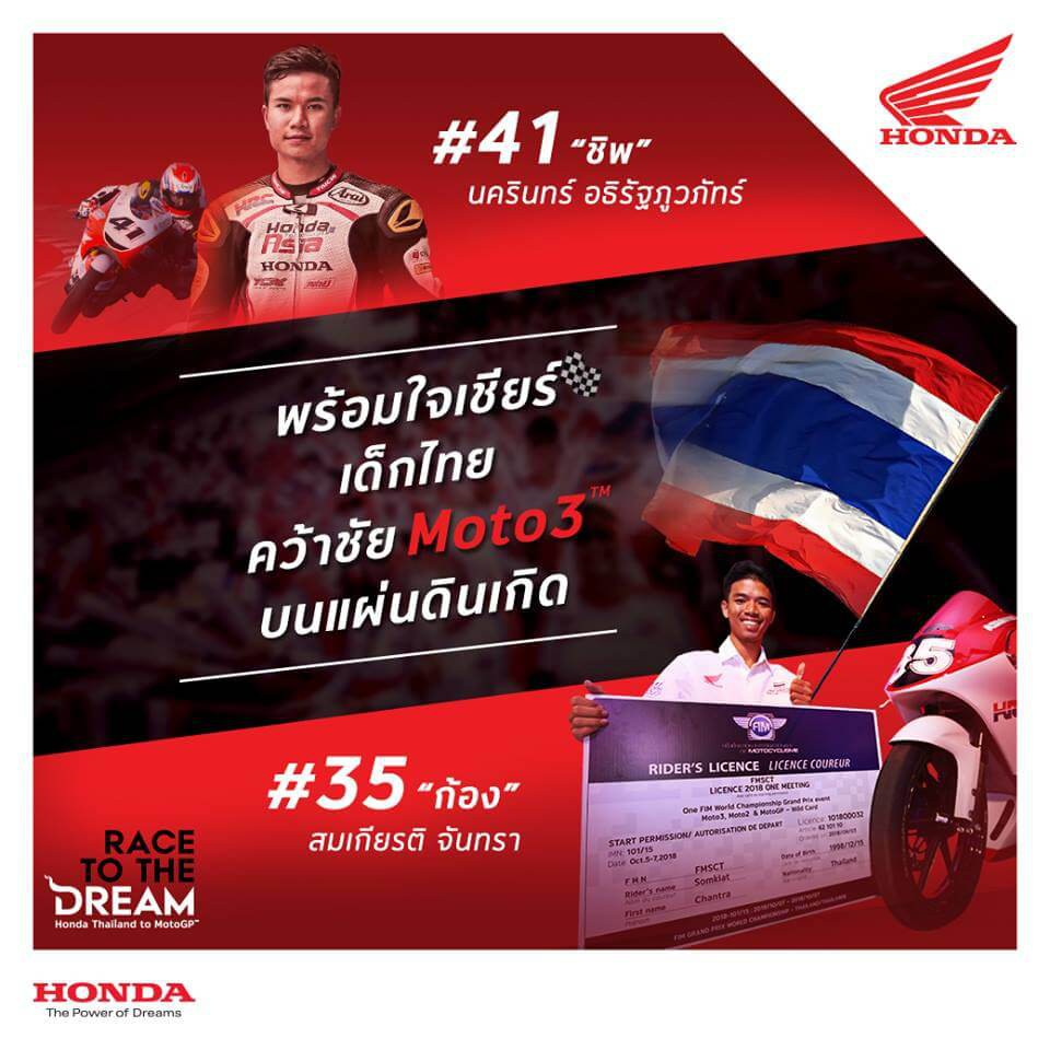 Honda-Motorcycle-มอเตอร์ไซค์-ฮอนด้า-ข่าวประชาสัมพันธ์-20181004-motorsport-thai-biker