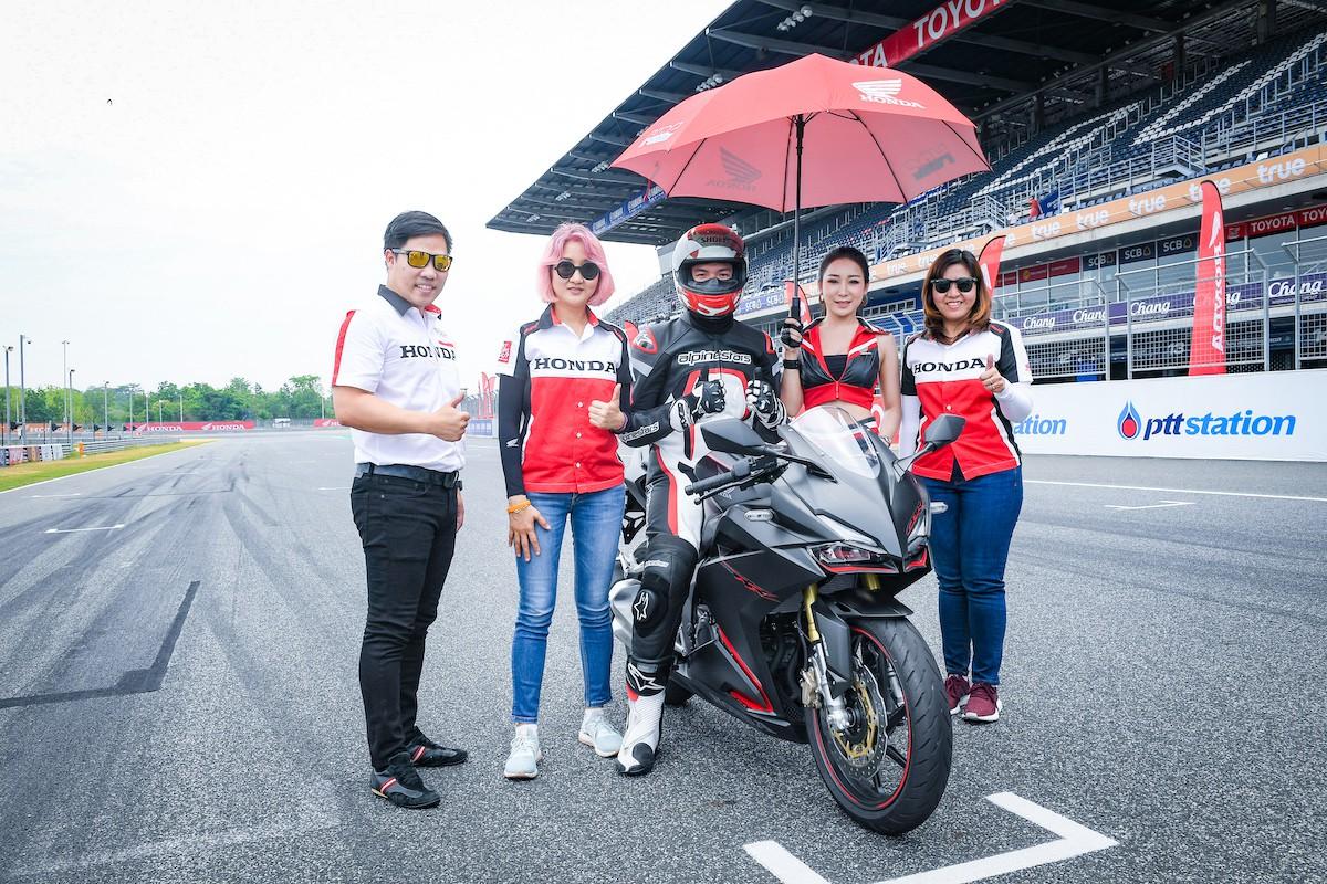 APHonda-ฮอนด้า-ข่าวผลิตภัณฑ์-racetrack-new-cbr250rr
