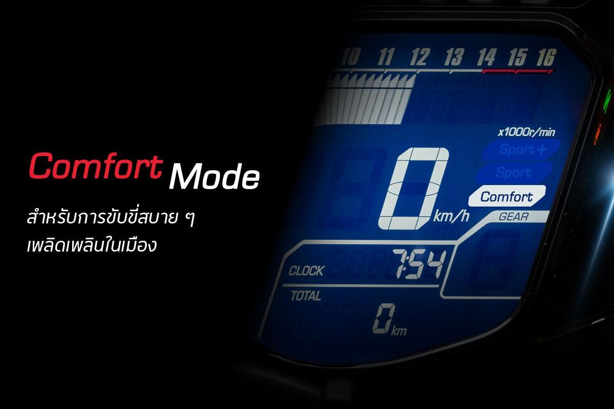 APHonda-ฮอนด้า-ข่าวผลิตภัณฑ์-3-step-riding-modes