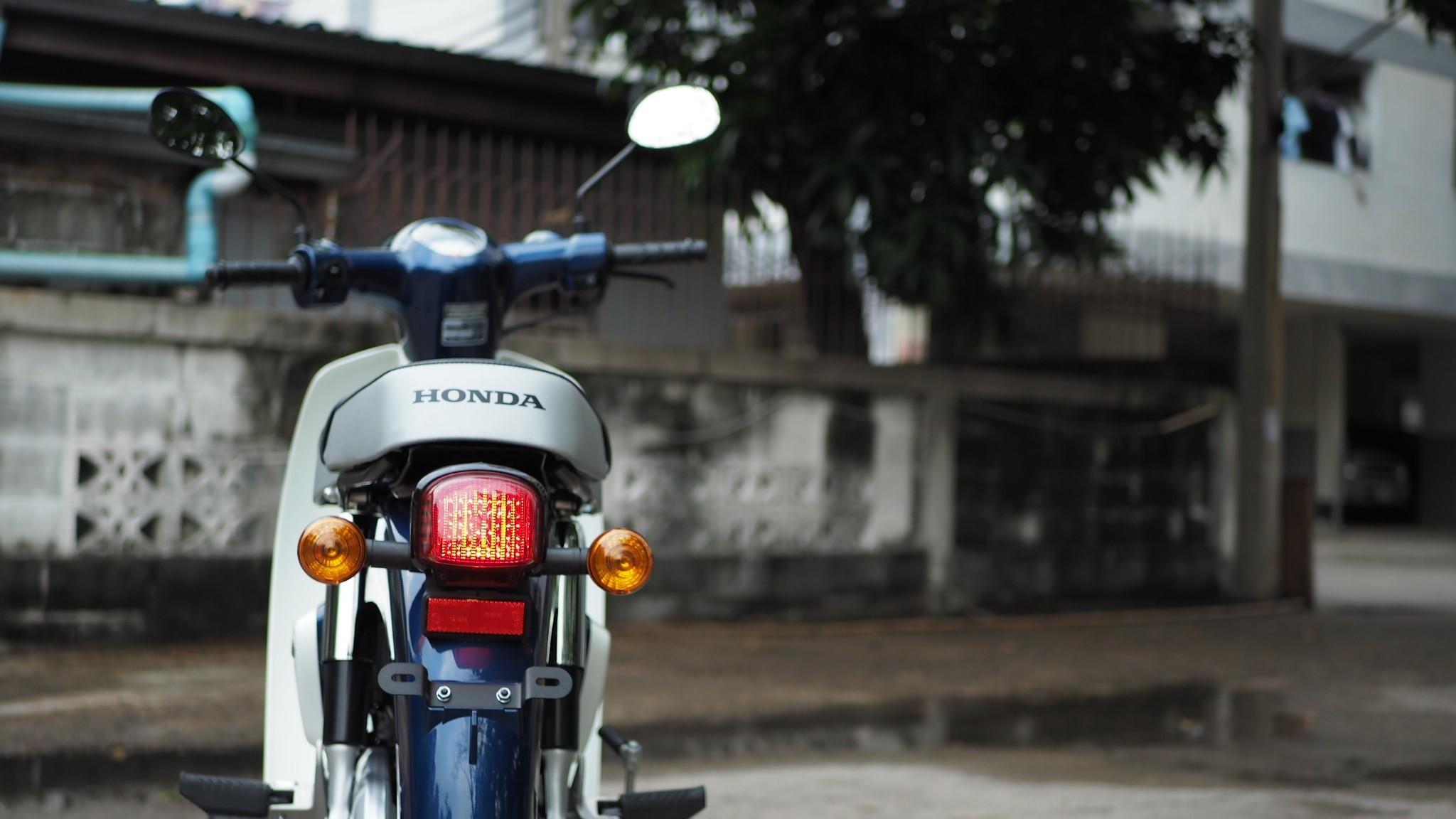 Honda-Motorcycle-มอเตอร์ไซค์-ฮอนด้า-รีวิว-review-honda-super-cub-2018-just-ride-it