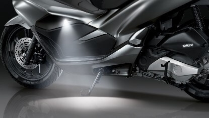 Honda-Motorcycle-มอเตอร์ไซค์-ฮอนด้า-PCX150-2017-Information-รายละเอียด-ไฟ-LED-NEW-WELCOME-LIGHT