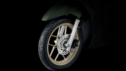 Honda-Motorcycle-มอเตอร์ไซค์-ฮอนด้า-click125i-2017-Information-รายละเอียด-ล้อแม็ก-Gold-Cast-Wheels