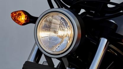 Honda-Motorcycle-มอเตอร์ไซค์-ฮอนด้า-Rebel300-information-ไฟหน้าทรงกลมใหญ่-ROUND-HEADLIGHT