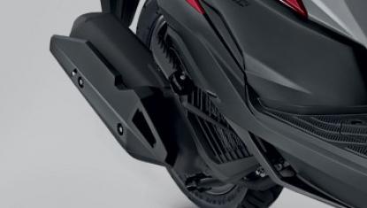 Honda-Motorcycle-มอเตอร์ไซค์-ฮอนด้า-click-125-i-2018-Information-รายละเอียด-ท่อไอเสีย-New Sporty Muffler