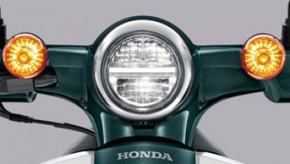 Honda-Motorcycle-มอเตอร์ไซค์-ฮอนด้า-supercub-2018-Information-รายละเอียด-ไฟหน้า-Round-Shape-LED-Headlight