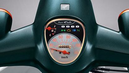 Honda-Motorcycle-มอเตอร์ไซค์-ฮอนด้า-super-cub-2018-Information-รายละเอียด-Retro-Meter-หน้าปัดเรือนไมล์