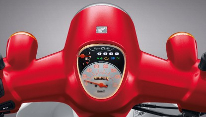 Honda-Motorcycle-มอเตอร์ไซค์-ฮอนด้า-supercub2018-Information-รายละเอียด-หน้าปัดเรือนไมล์