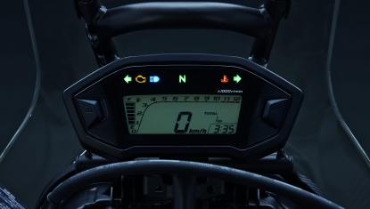 Honda-Motorcycle-มอเตอร์ไซค์-ฮอนด้า-CRF250RALLY-Information-รายละเอียด-แผงหน้าปัดเรือนไมล์แบบดิจิทัล -DIGITAL-METER