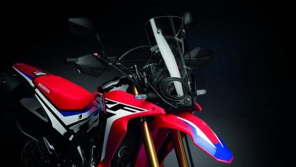 Honda-Motorcycle-มอเตอร์ไซค์-ฮอนด้า-CRF250RALLY-Information-รายละเอียด-บังลมหน้าขนาดใหญ่-RALLY-WIND-SCREEN