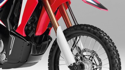 APHonda-New-CRF250RALLY-2019-NEW DARK GOLD UPSIDE-DOWN SHOCK ABSORBER