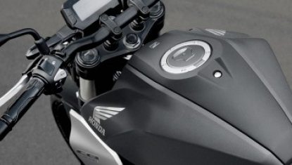Honda-Motorcycle-มอเตอร์ไซค์-ฮอนด้า-CB300R-2018-Information-รายละเอียด-เทเปอร์แฮนด์บาร์อะลูมิเนียม-Tapered-Rubber-Mounted-Aluminum-Handlebar