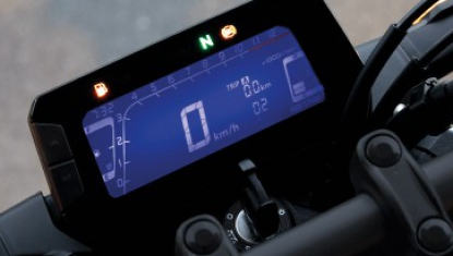Honda-Motorcycle-มอเตอร์ไซค์-ฮอนด้า-CB300R-2018-Information-รายละเอียด-หน้าปัดควบคุมระบบมัลติฟังก์ชั่นแสดงผลแบบดิจิทัล-New-Full-LCD-Multifunction-Meter