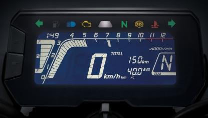 Honda-Motorcycle-มอเตอร์ไซค์-ฮอนด้า-Cb150r-Information-รายละเอียด-เรือนไมล์-New-Full-LCD-Multifunction-Meter