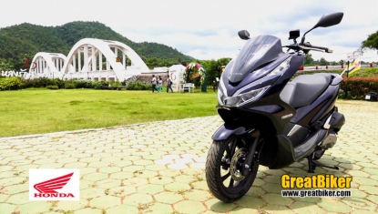 APHonda-Reviews-All New PCX Hybrid Test drive by GreatBiker