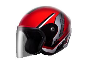 H2C OPEN FACE HELMET MOTO