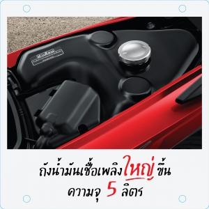 All New Honda Wave110i 2021_Fuel Tank