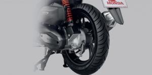 Honda-Motorcycle-มอเตอร์ไซค์-ฮอนด้า-new-click150i-2018-automatic-New-Sporty Cast Wheel-ล้อแม็กใหม่สไตล์สปอร์ต