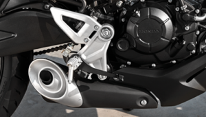 APHonda-New-CBR150R-2019-Balanced Design Muffler