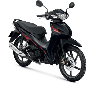 All New Honda Wave110i 2021  สีดำ-เทา
