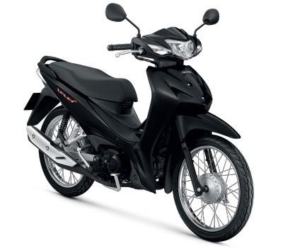 All New Honda Wave110i 2021 สีดำ