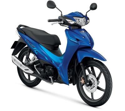 All New Honda Wave110i 2021  สีน้ำเงิน-ฟ้า