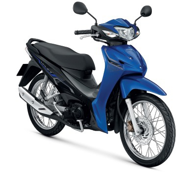 All New Honda Wave110i 2021 สีน้ำเงิน-เทา
