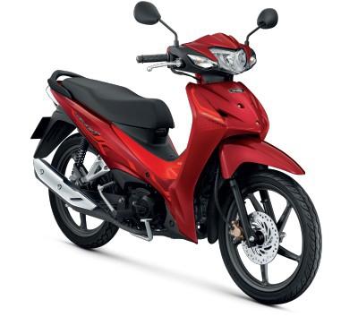 All New Honda Wave110i 2021  สีแดง