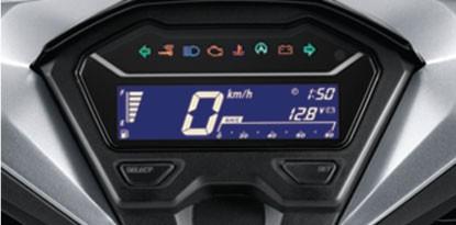 Honda-Motorcycle-มอเตอร์ไซค์-ฮอนด้า-new-click150i-2018-automatic-Full-Digital-Meter-แผงหน้าปัดดิจิทัล