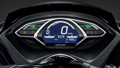 APHonda-New-PCX-HYBRID-2018-New Full Digital Speedmeter