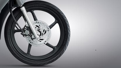 Honda-Motorcycle-มอเตอร์ไซค์-ฮอนด้า-All New Wave 125i-Information-รายละเอียด-ดิสก์เบรกหน้า-Front Disk Brake