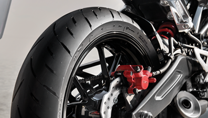 APHonda-New-CBR150R-2019-150mm Stability Wide Rear Tire