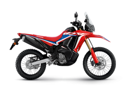 All New CRF300RALLY