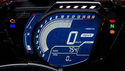 CBR250RR FULLY LCD DIGITAL METER & LAP TIMER