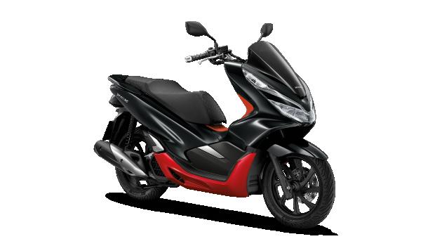 Honda-Motorcycle-มอเตอร์ไซค์-ฮอนด้าPCX150-2019-color-ดำ-แดง