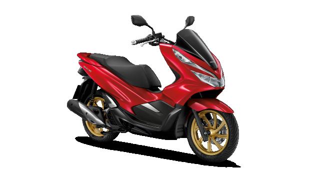 Honda-Motorcycle-มอเตอร์ไซค์-ฮอนด้า-PCX150-2019-color-แดง-ดำ