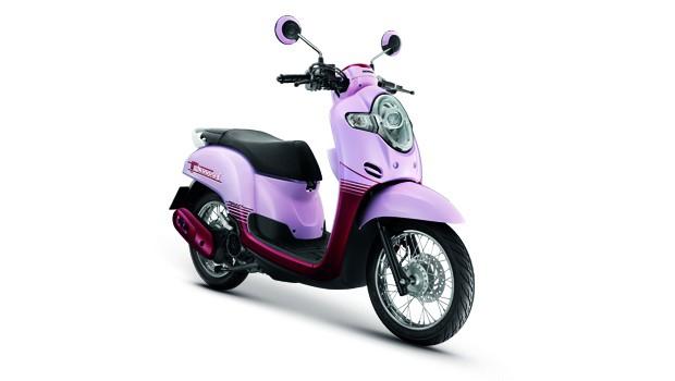 Honda-Motorcycle-มอเตอร์ไซค์-ฮอนด้า-scoopyi-2018-color-P-R-PINK-RED-ชมพู-แดง