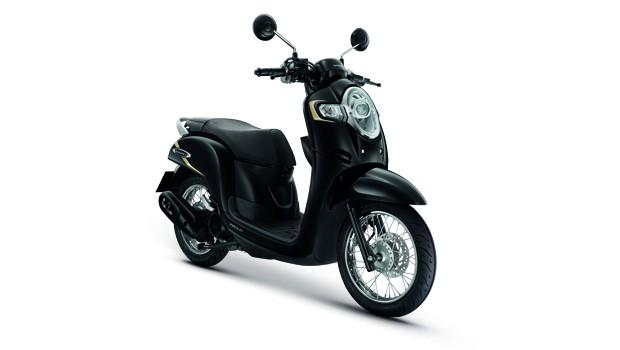Honda-Motorcycle-มอเตอร์ไซค์-ฮอนด้า-scoopyi-2018-color-Whole-Black-ดำล้วน