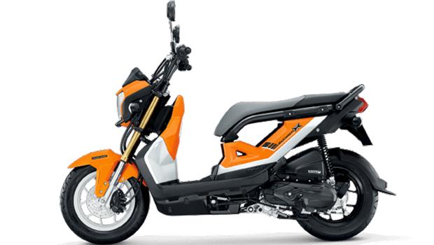 Honda-Motorcycle-มอเตอร์ไซค์-ฮอนด้า-zoomer-x-2017-color-Orange-Black-สีส้ม-ดำ