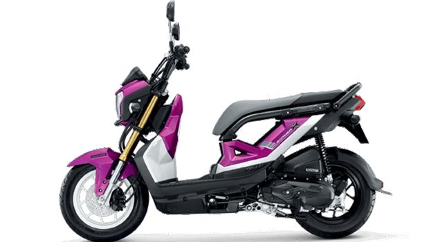 Honda-Motorcycle-มอเตอร์ไซค์-ฮอนด้า-zoomer-x-2017-color-Pink-Black-ชมพู-ดำ