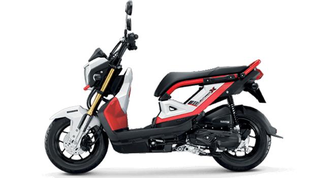 Honda-Motorcycle-มอเตอร์ไซค์-ฮอนด้า-zoomer-x-2017-color-Red-Black-สีแดง-ดำ