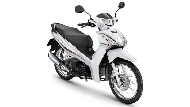 Honda-Motorcycle-มอเตอร์ไซค์-ฮอนด้า-All New Wave 125i-color-ขาว-ดำ