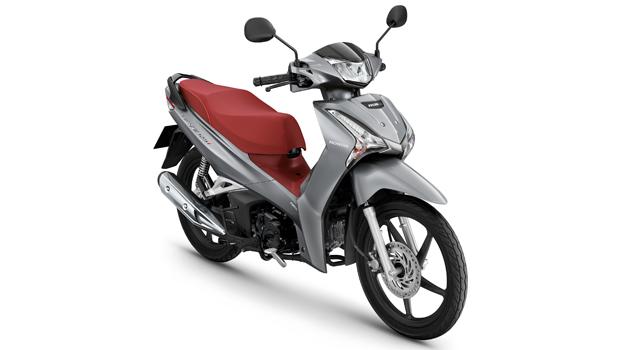 Honda-Motorcycle-มอเตอร์ไซค์-ฮอนด้า-All New Wave 125i-color-เทา-แดง