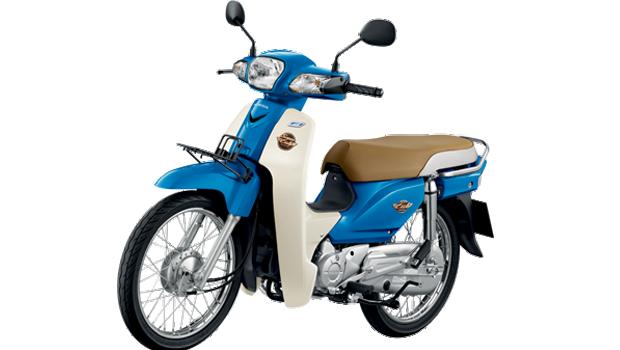Honda-Motorcycle-มอเตอร์ไซค์-ฮอนด้า-supercub-2017-color-Blue-White-สีน้ำเงิน-ขาว