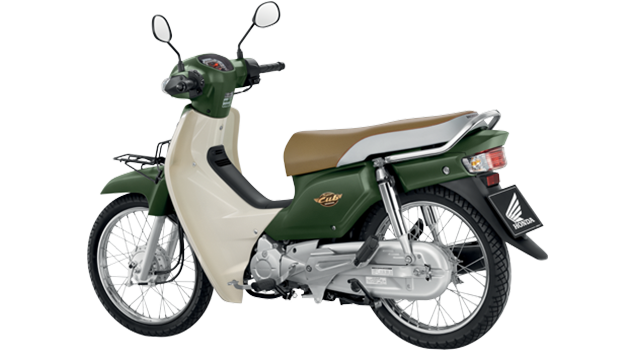 Honda-Motorcycle-มอเตอร์ไซค์-ฮอนด้า-Wave-110i-2017-color-Green-White-สีเขียว-ขาว