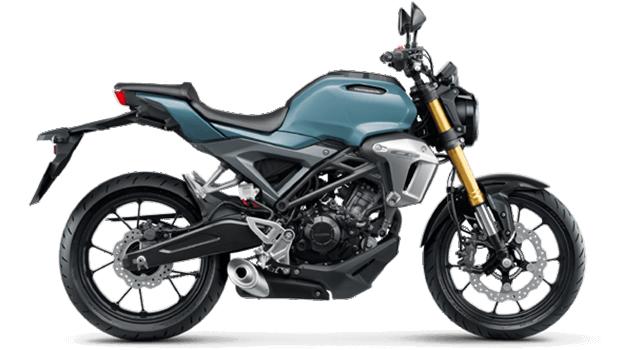 Honda-Motorcycle-มอเตอร์ไซค์-ฮอนด้า-Cb150r-color-Pearl-Cadat-Grey-สีเทา-สีดำ