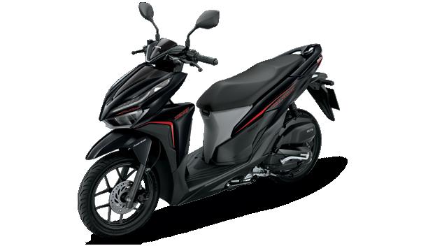 Honda-Motorcycle-มอเตอร์ไซค์-ฮอนด้า-click-125-i-2018-color-Black