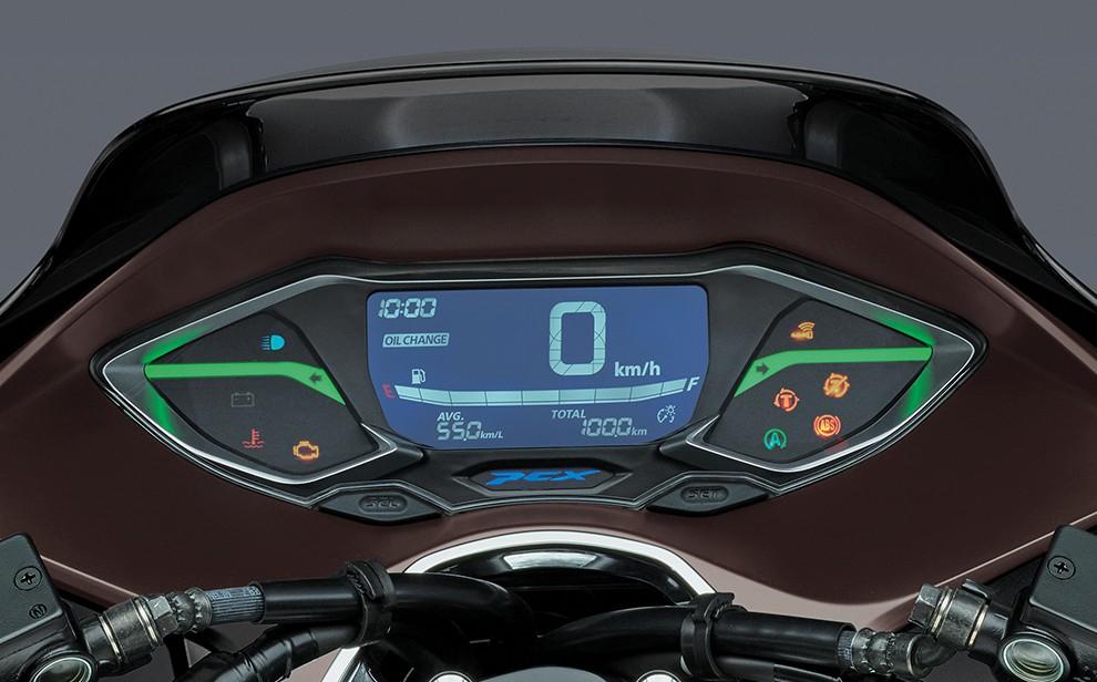 PCX160_Full Digital Meter
